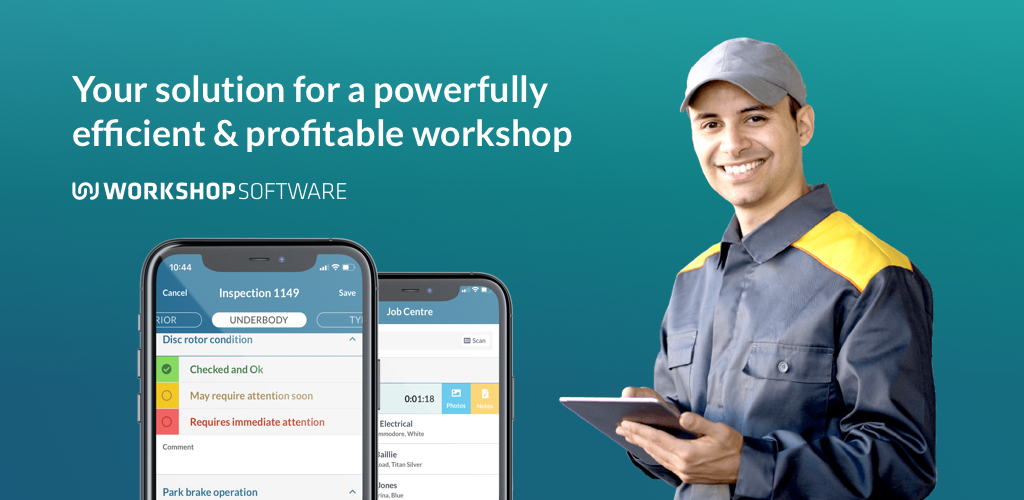 Workshop Software Phone App