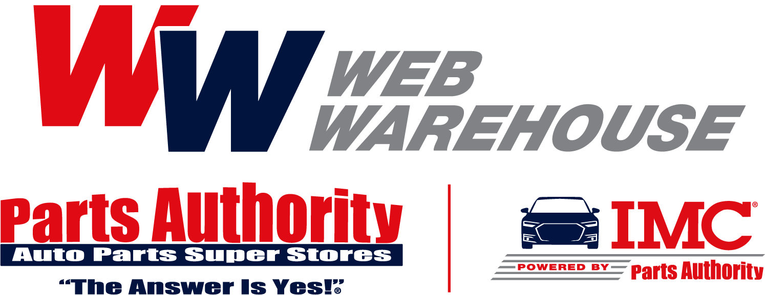 Parts authority web warehouse logo