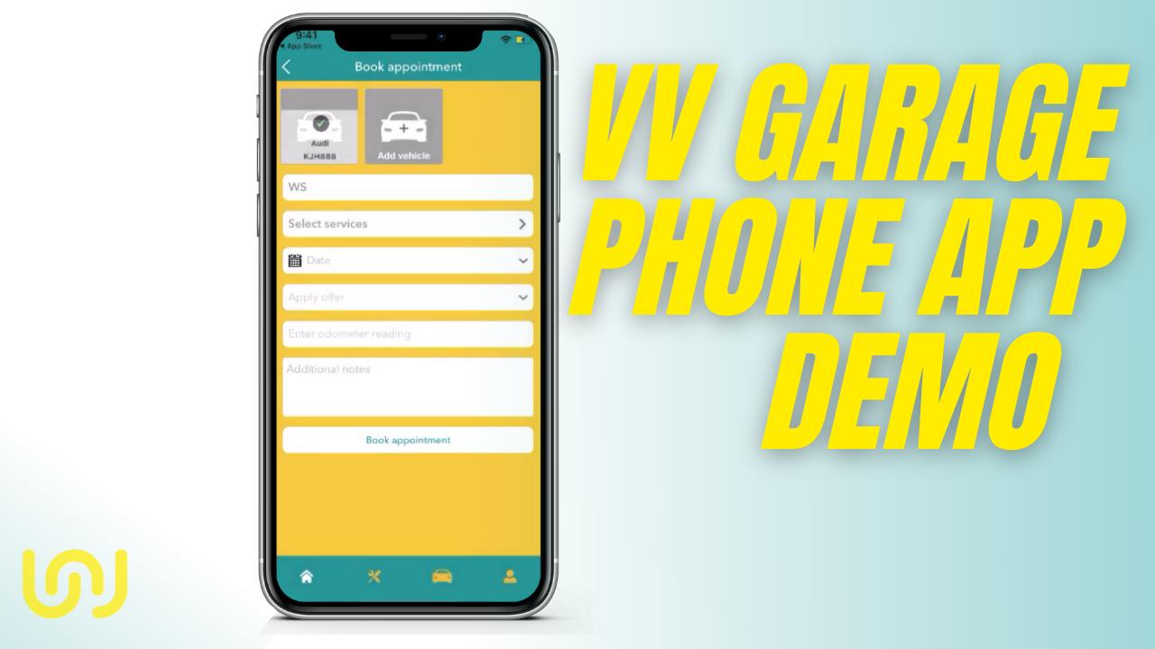 VV Garage Phone App Demo